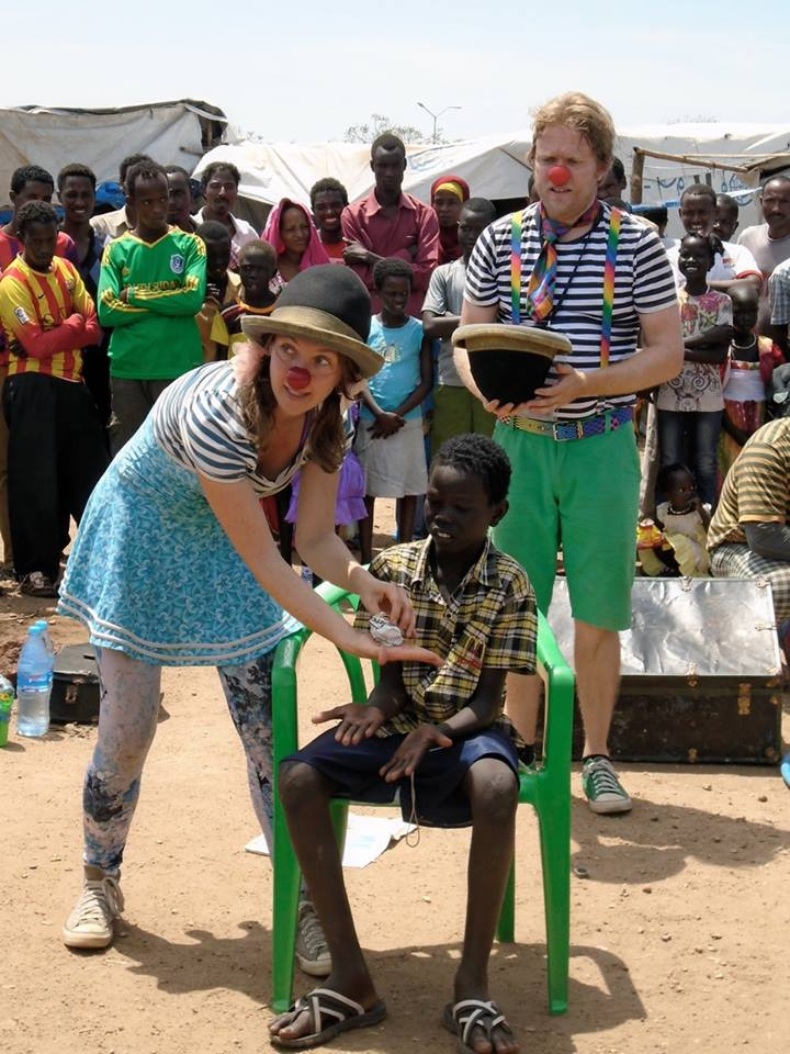 Clowns Without Borders in South Sudan