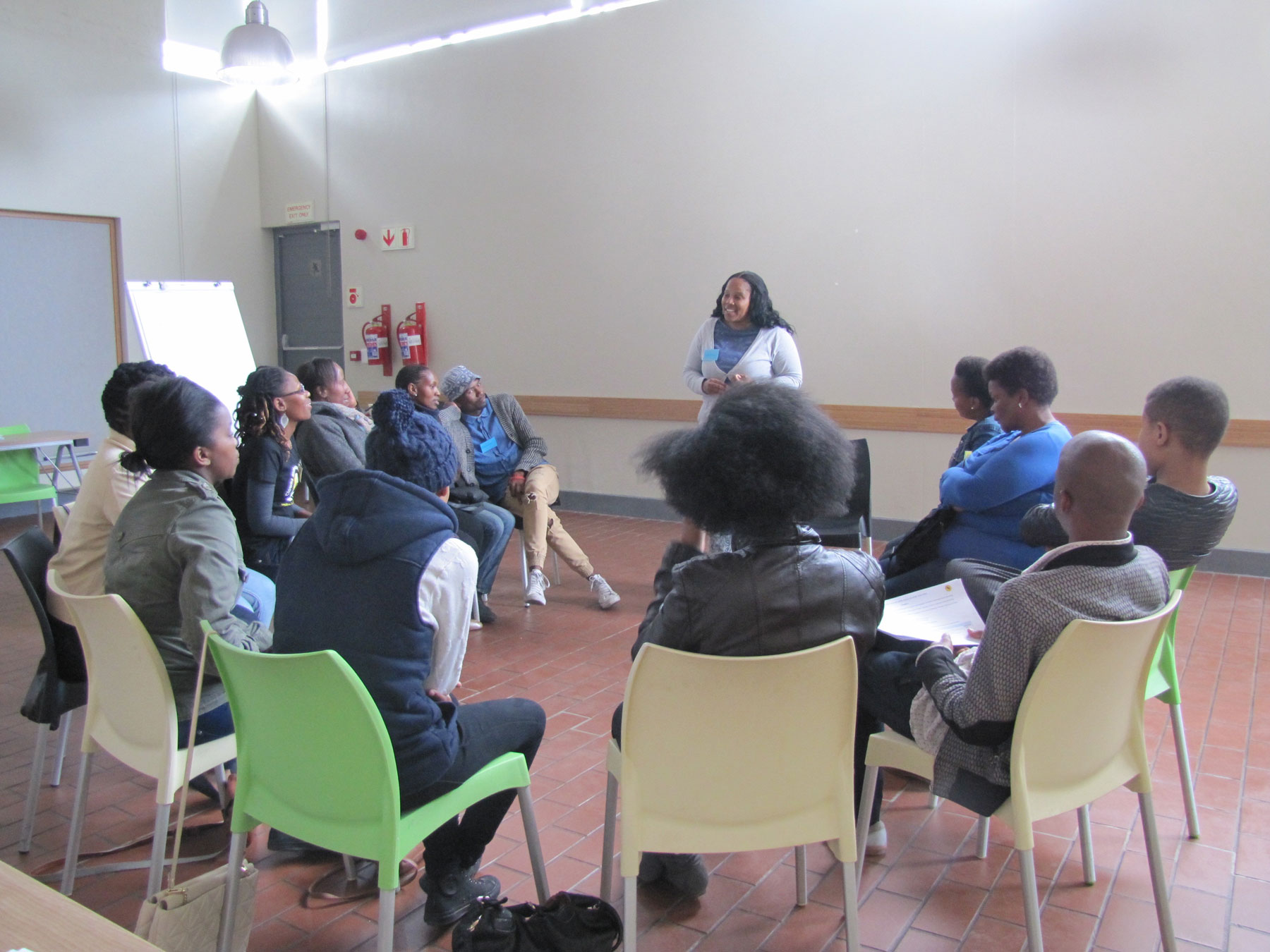 In-a-circle,-Educators-Workshop,-Khayelitsha,-2015