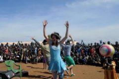 Clowns heading to Kakuma Refugee Camp in Kenya
